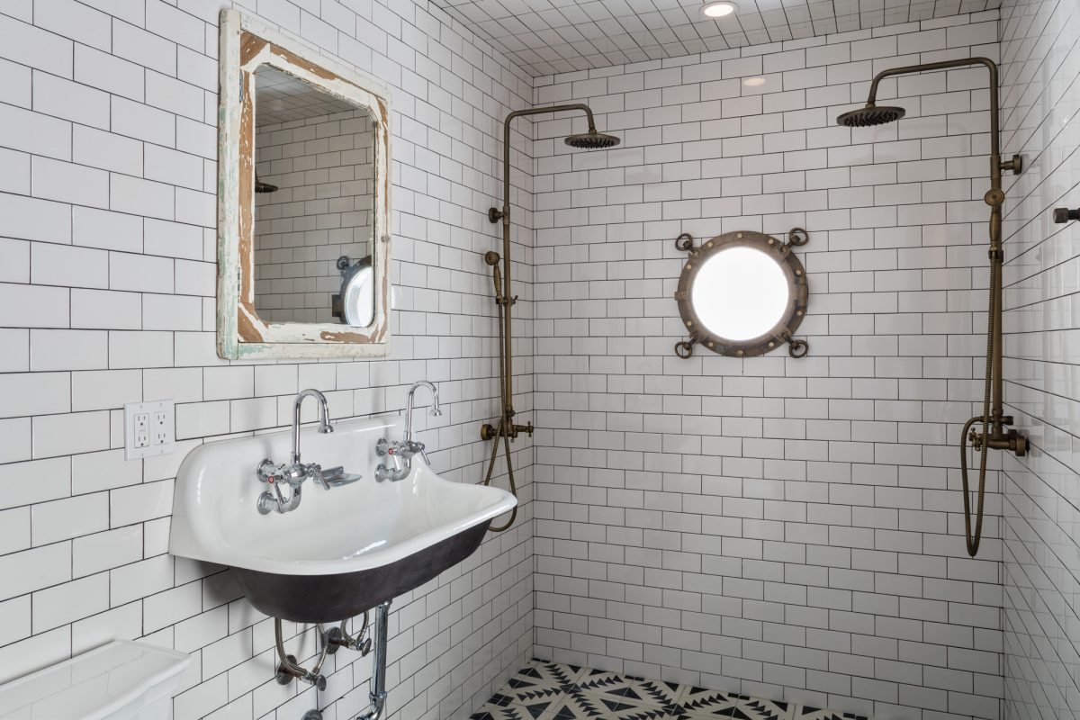 Urban Cowboy Brooklyn Private Townhouse Bathroom