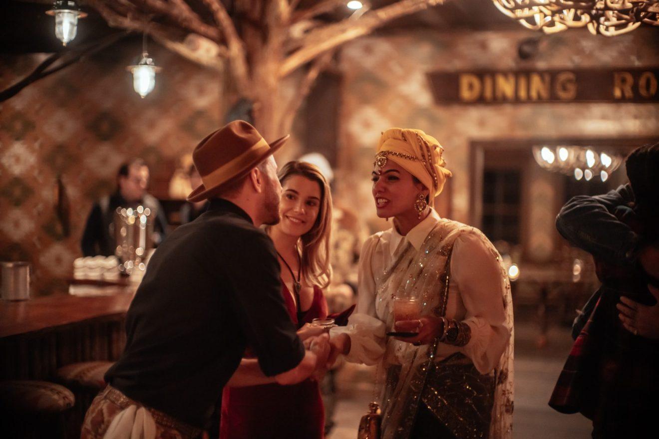 Jayson meeting Anshuma at the bar